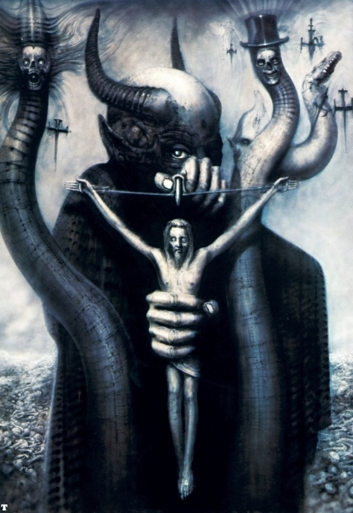 Celtic Frost album cover hr giger