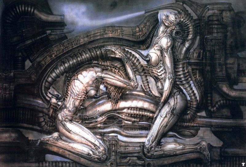 Erotomechanics hr giger