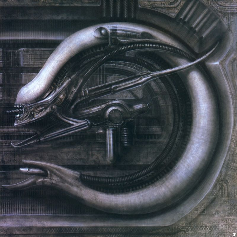 Monster V hr giger