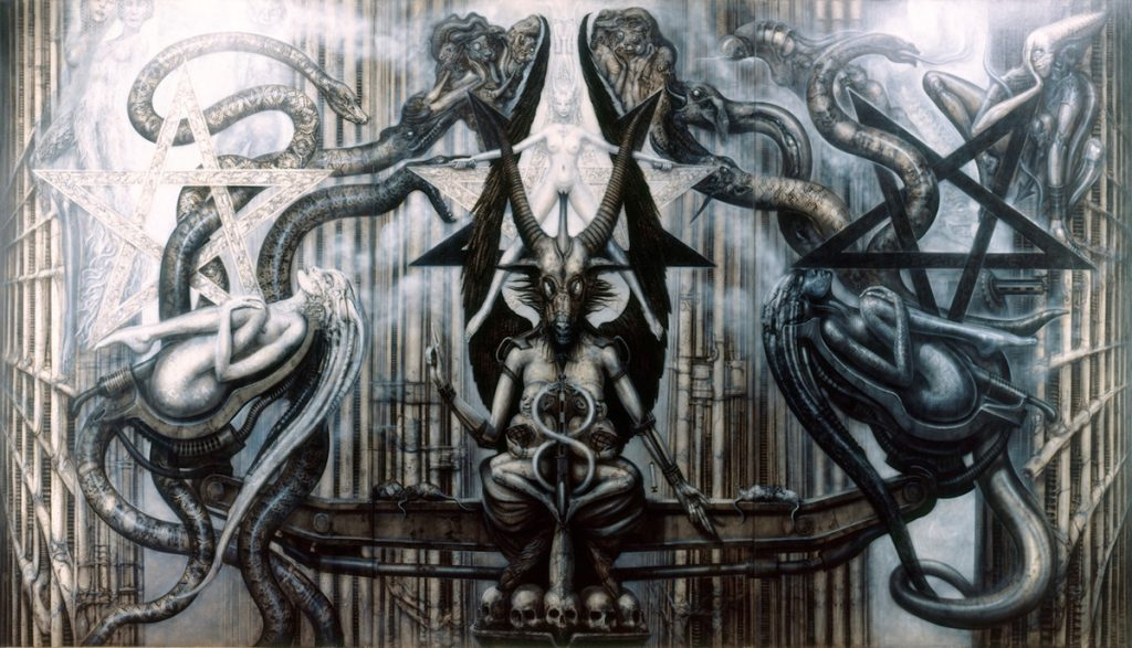 the spell IV hr giger