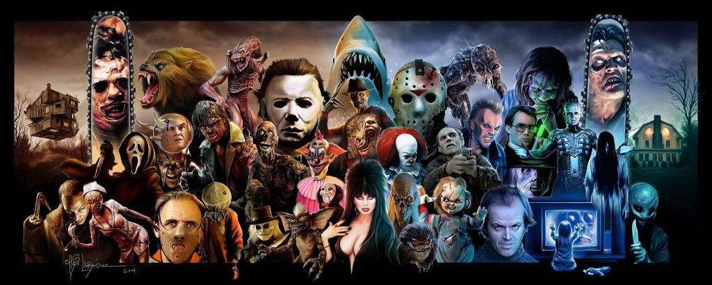 characters from horror movies