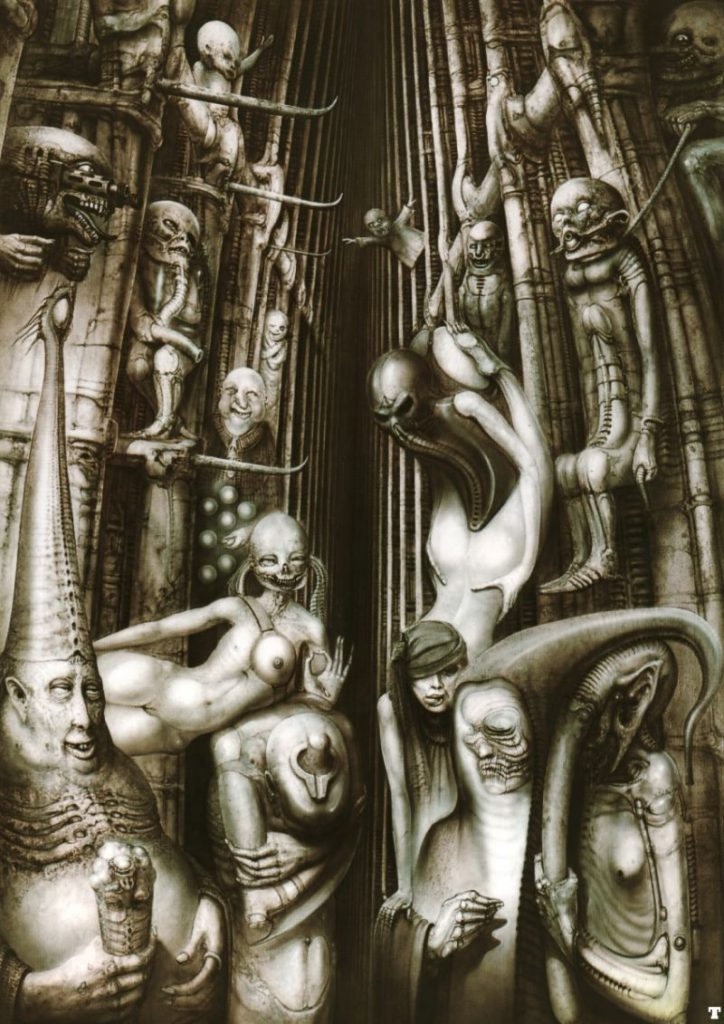 Alester Crowley hr giger