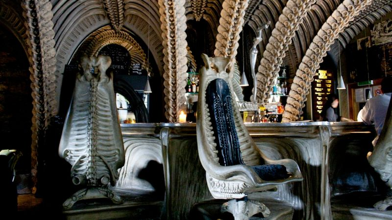 Bar In Switzerland hr giger