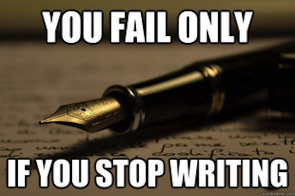 writing failure