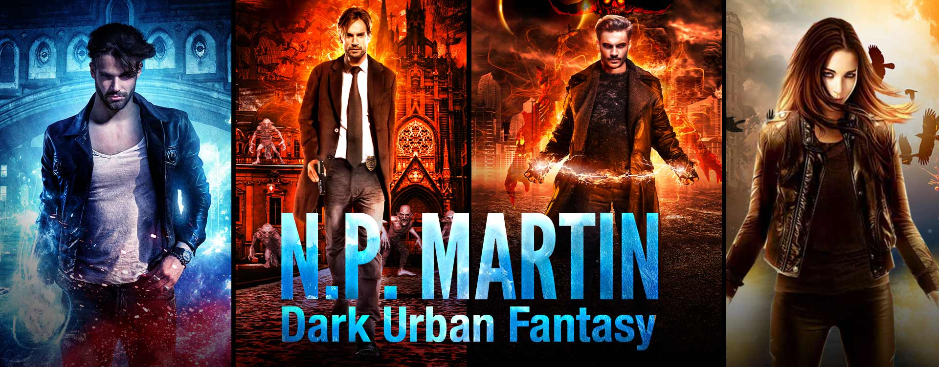urban fantasy author