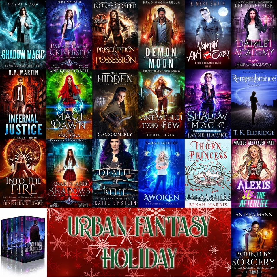 URBAN FANTASY AUTHORS
